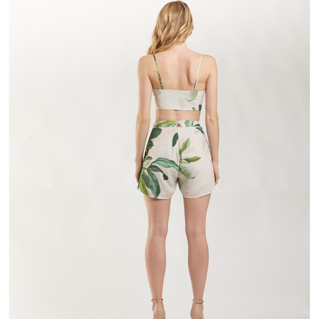 Women's Shorts | Tropical Palm Short | AMELIUS