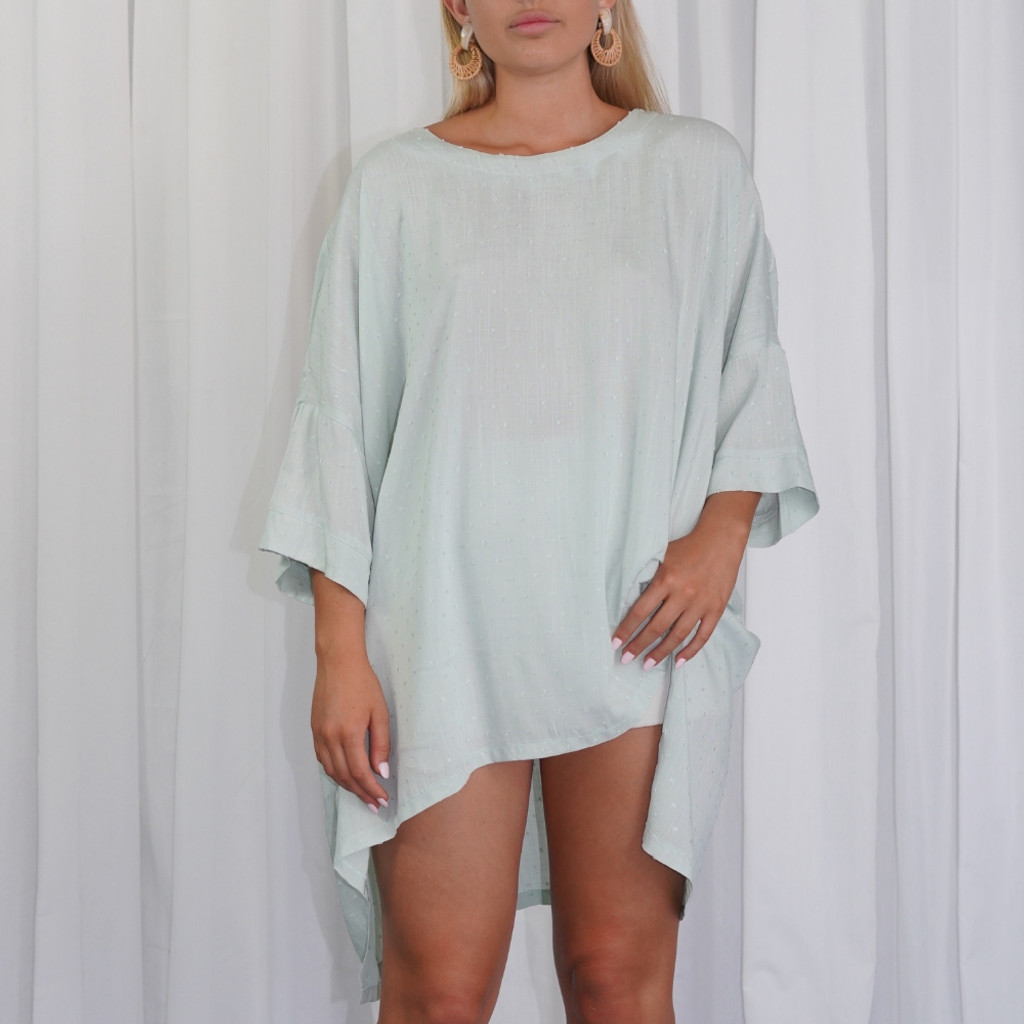 Women's Top Online | KL447 Top in Mint | KIIK LUXE