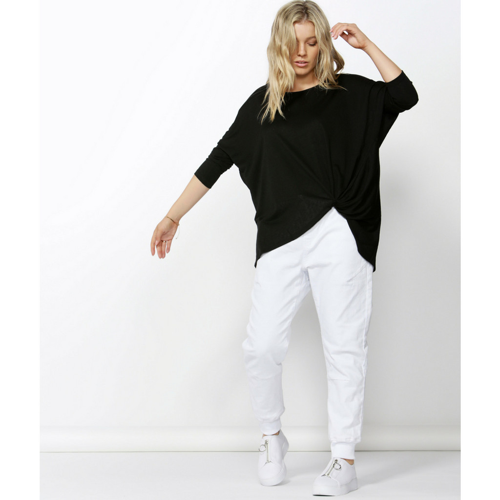 Women's Top Online | ATLANTA ¾ SLEEVE TOP | BETTY BASICS