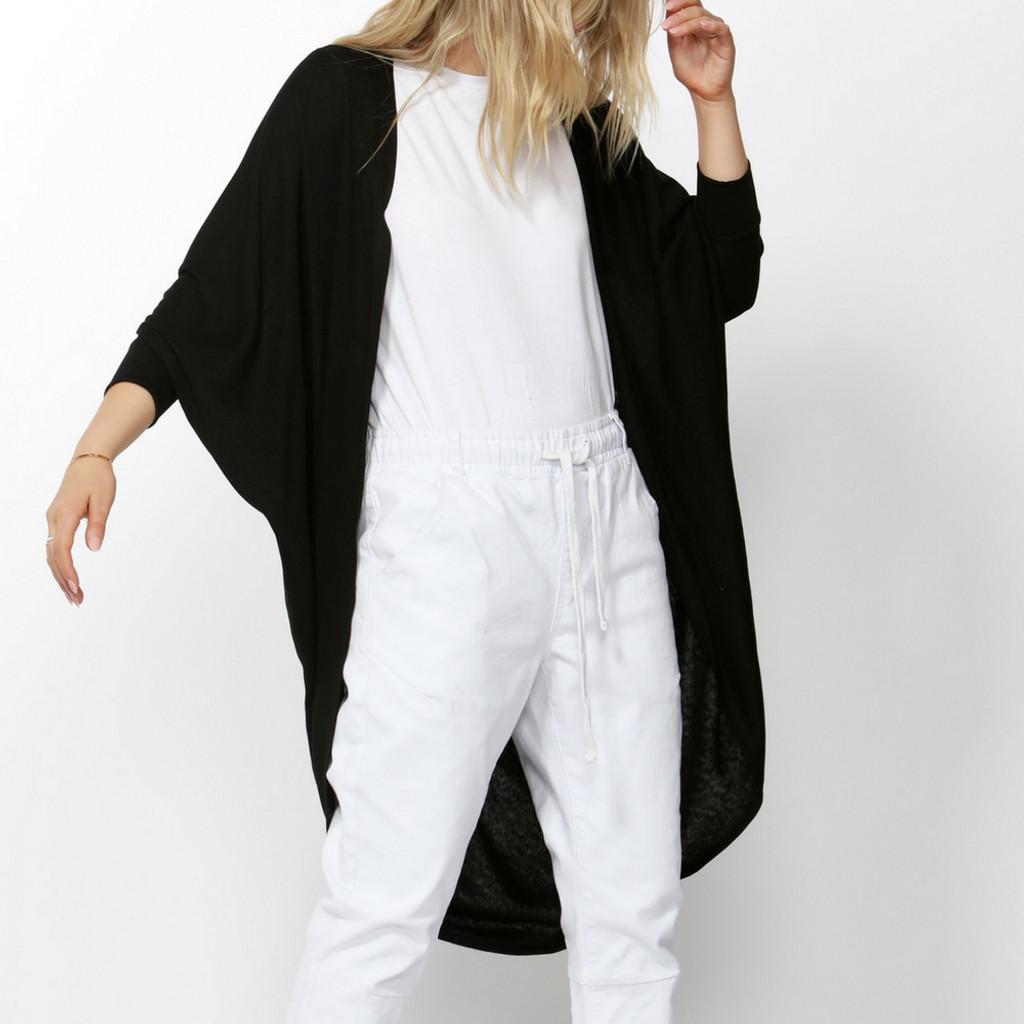 Women's Jackets  | Santorini Drape Cardigan | BETTY BASICS