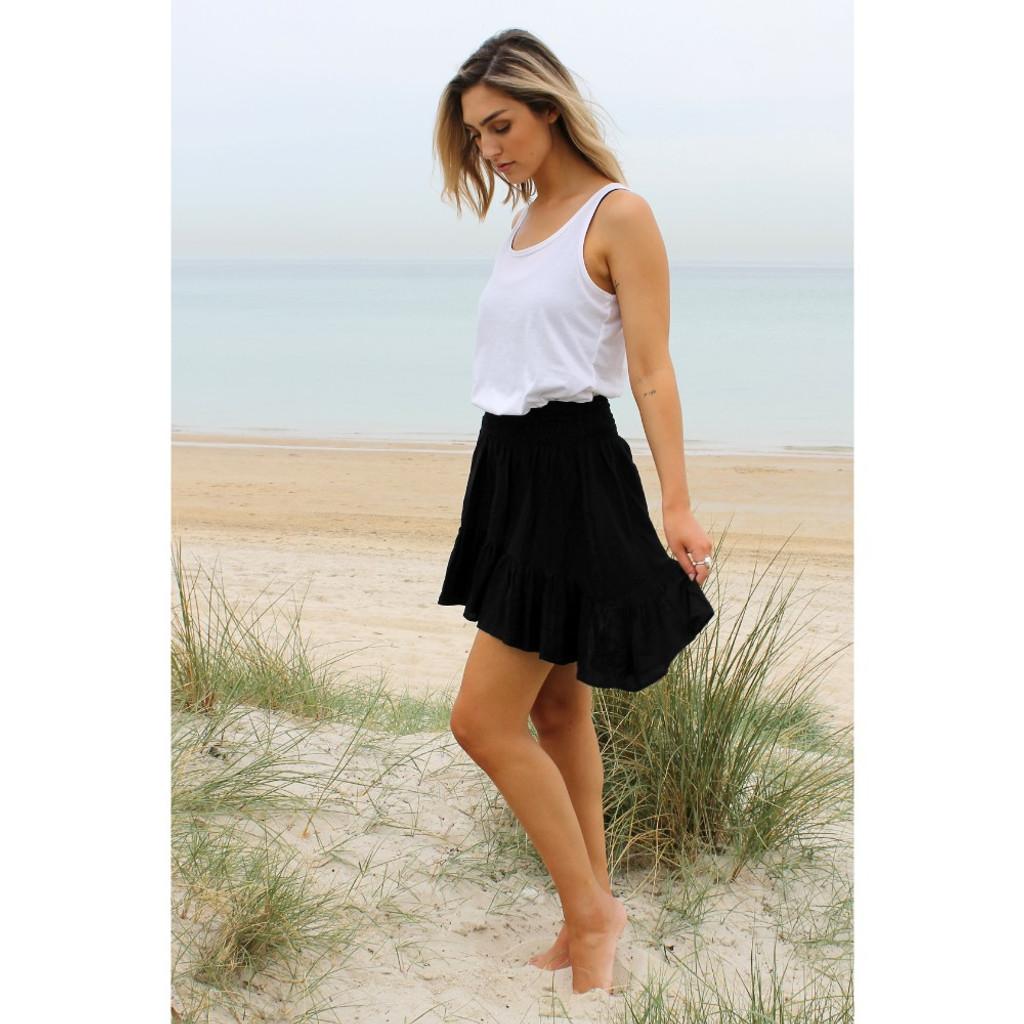 Women's Skirts | Savannah Skirt in Black | BIJOU