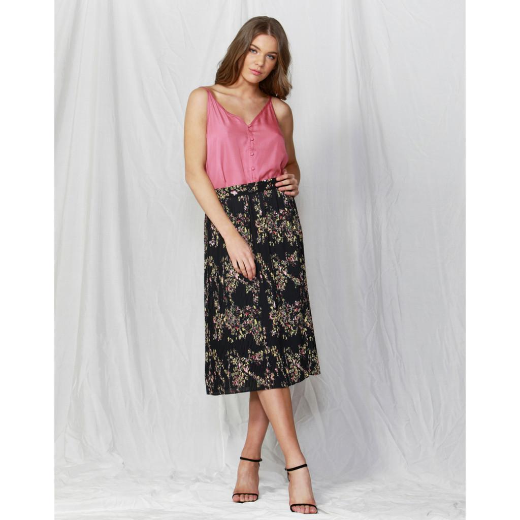 Women's Skirts   Lille Pleated Skirt   FATE + BECKER