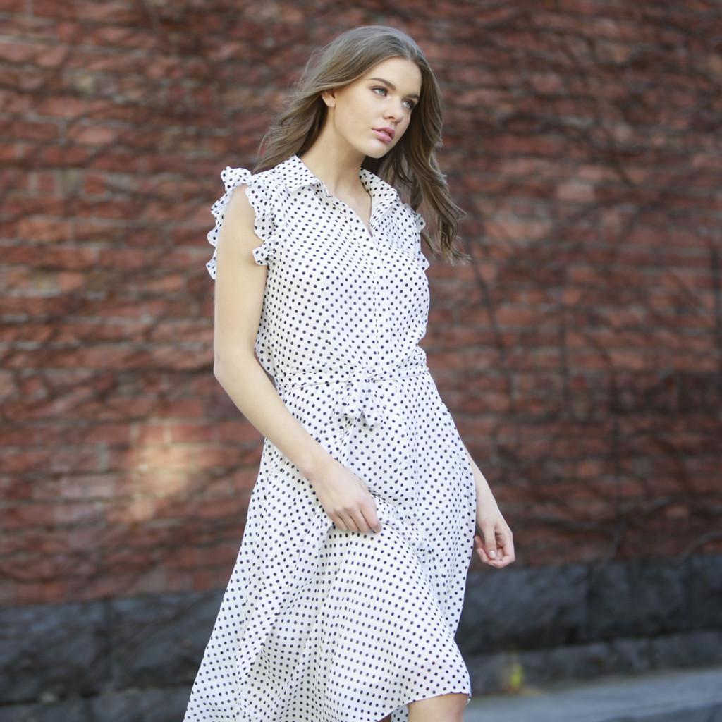 Women's Tops Australia | Bronte Button-Down Dress | FATE + BECKER