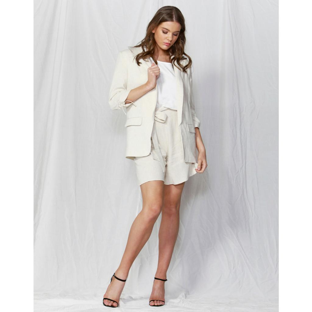 2b77555798e Need This Linen Blend Blazer by FATE + BECKER