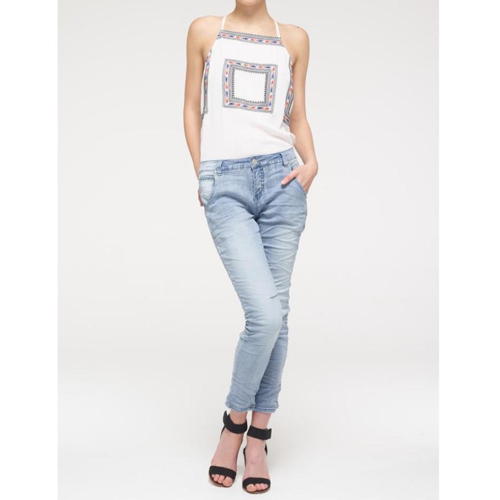 Women's Jeans | Cross Stitch Jean | BIANCO