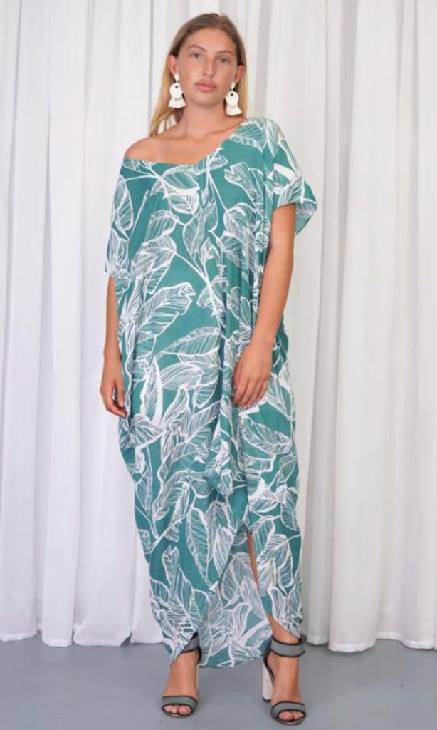 Women's Dresses   KL457 Dress in Sea Green   KIIK LUXE