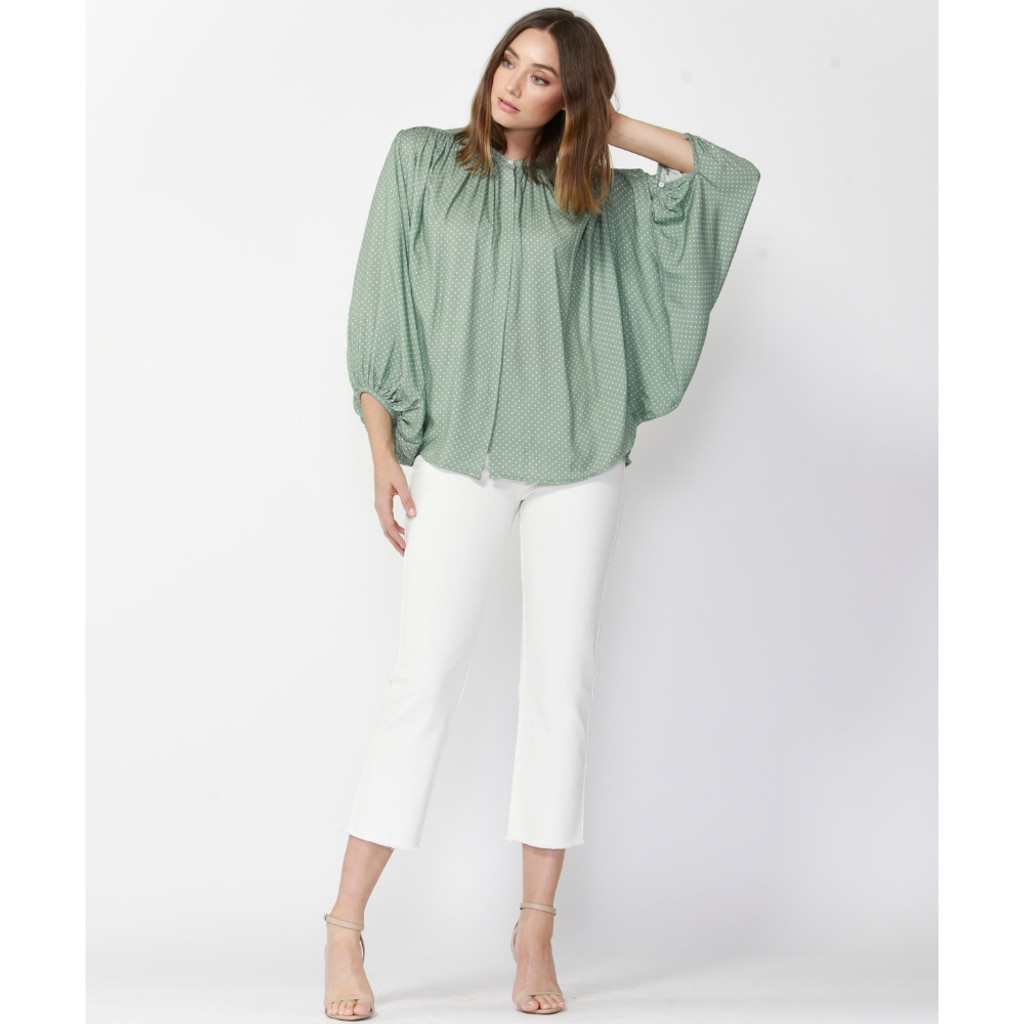 Ladies Tops In Australia | Love Song Relaxed Blouse | FATE + BECKER