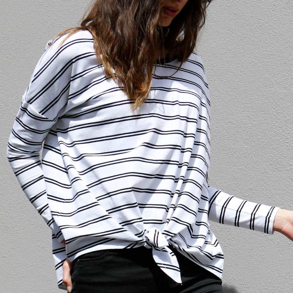 Tops For Women Australia | Willow Knot Top | BETTY BASICS