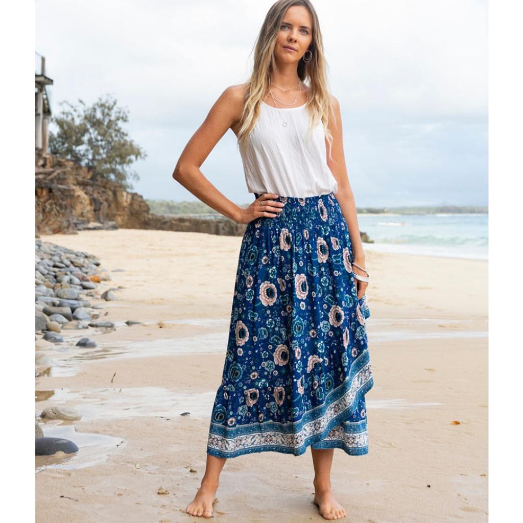 Women's Skirts | Havana Midi Skirt | NOOSA SOL