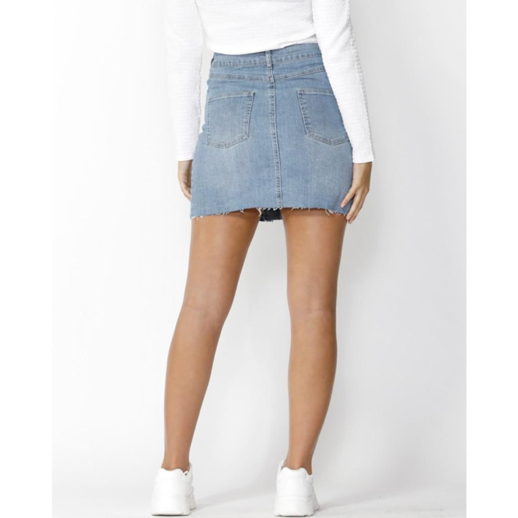 Women's Skirts | Hunter Button Down Skirt | SASS
