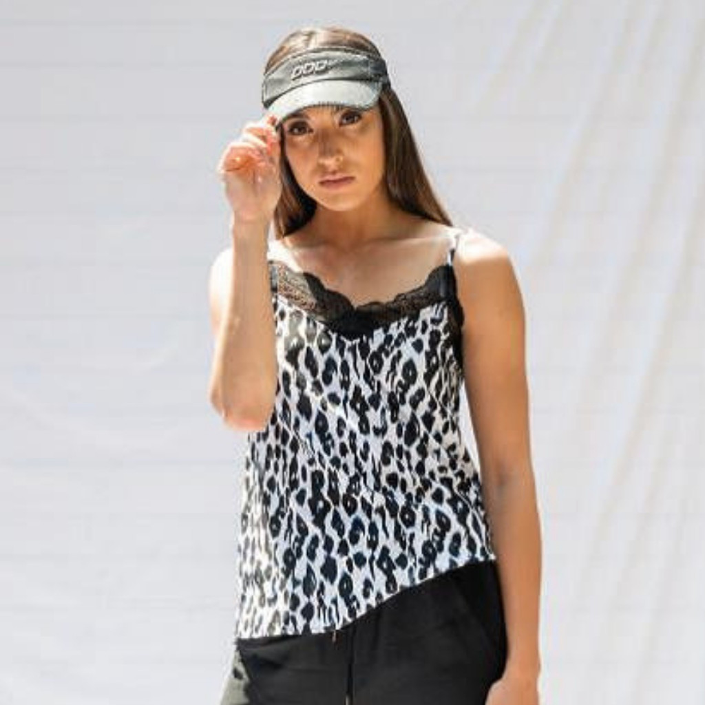 Women's Tops Australia | Culture Cami in Leopard | BLAYKLEY