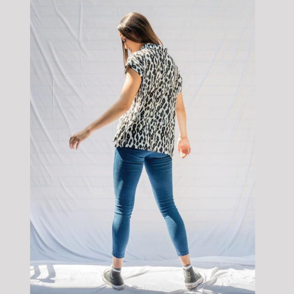 Women's Tops | Love Leopard Shirt | BLAYKLEY