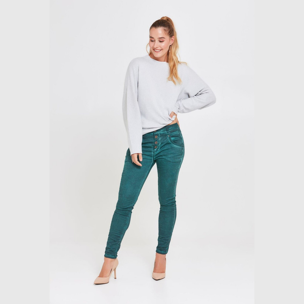 Ladies Pants | Blake Jeans in Deep Forest | BIANCO