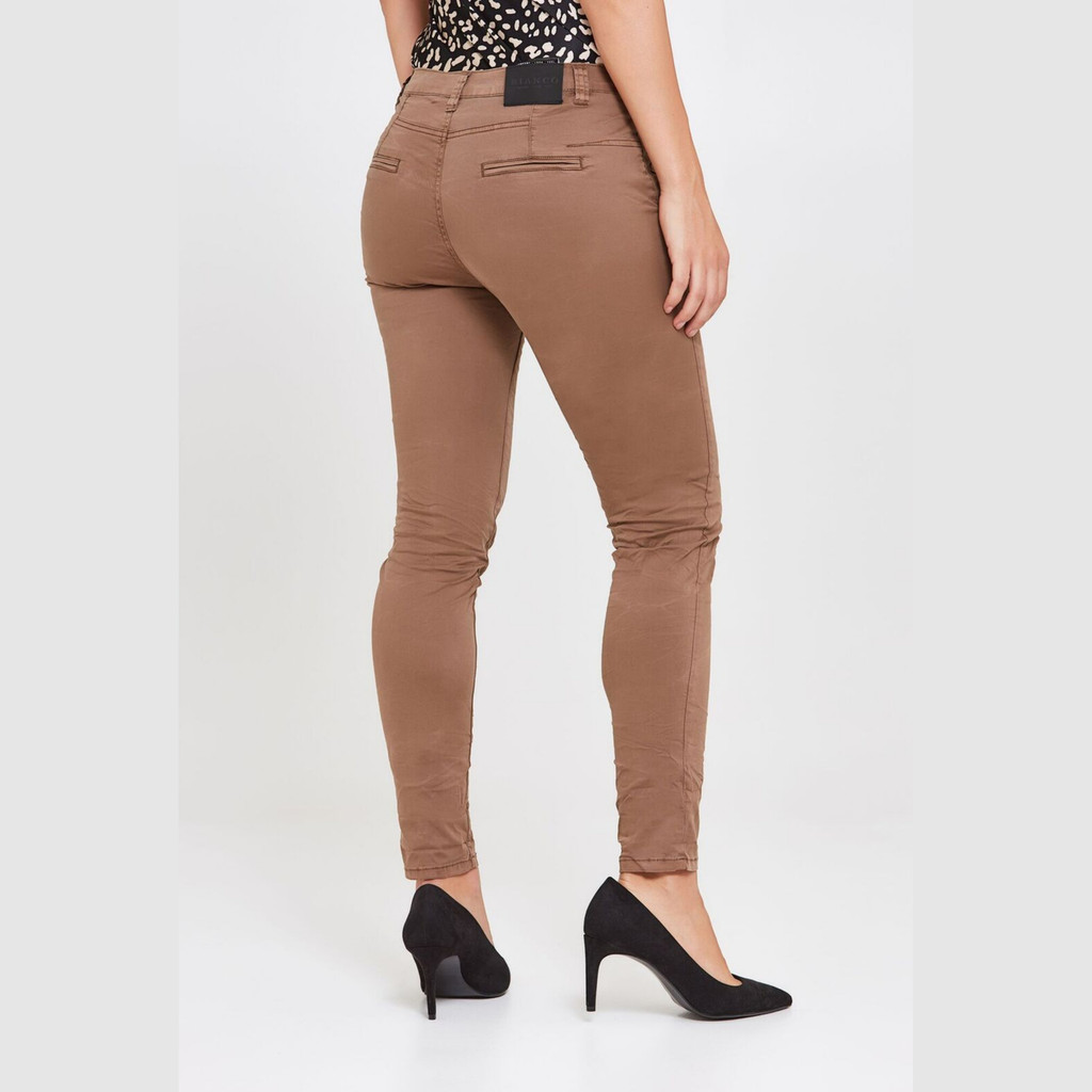 Ladies Pants Australia | Franca Jeans in Latte | BIANCO