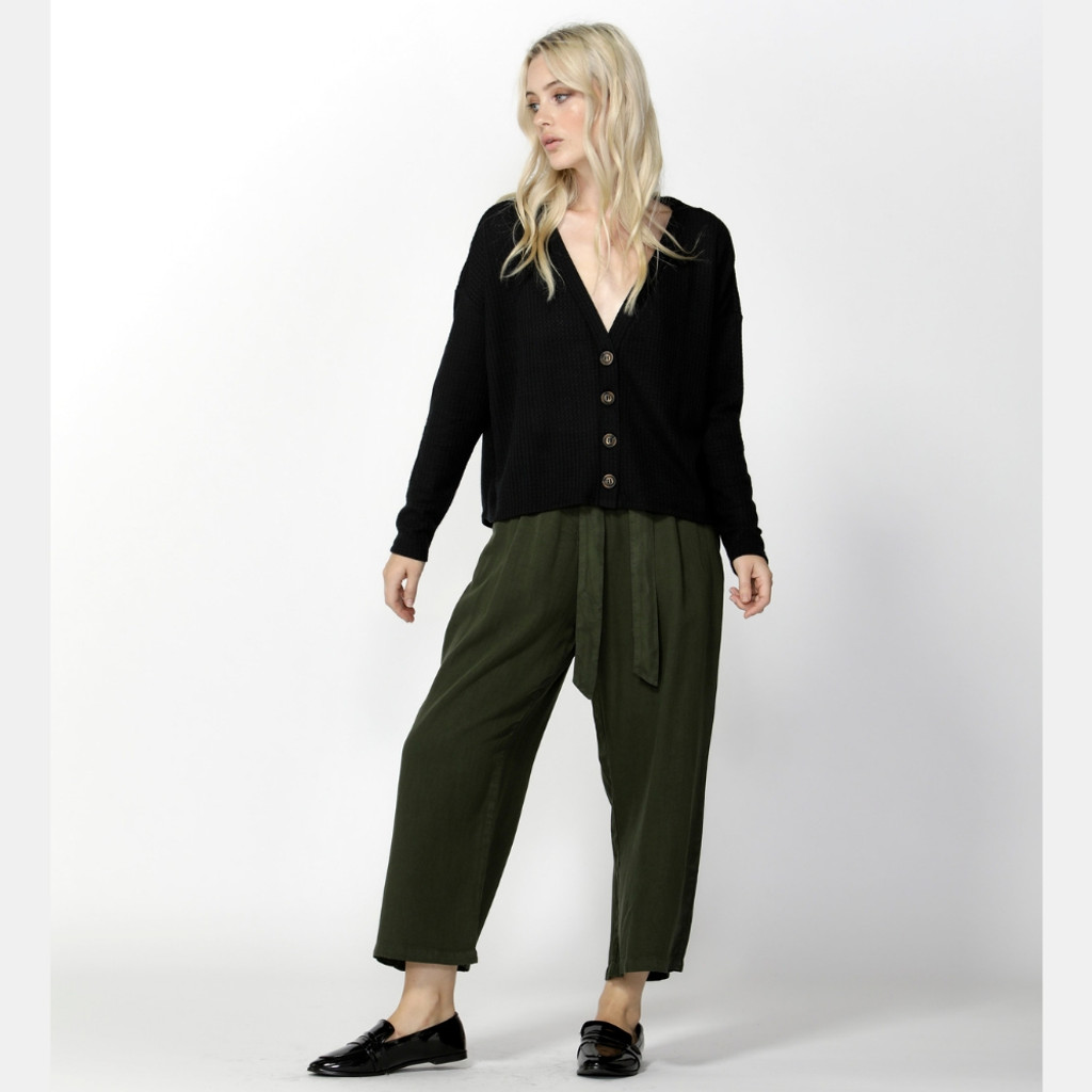 Women's Pants | Seeker Belted Culottes | SASS