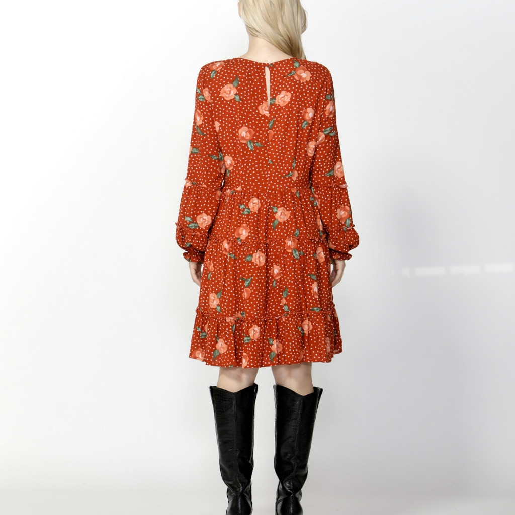 Ladies Dresses   Market Days Shirred Dress   SASS