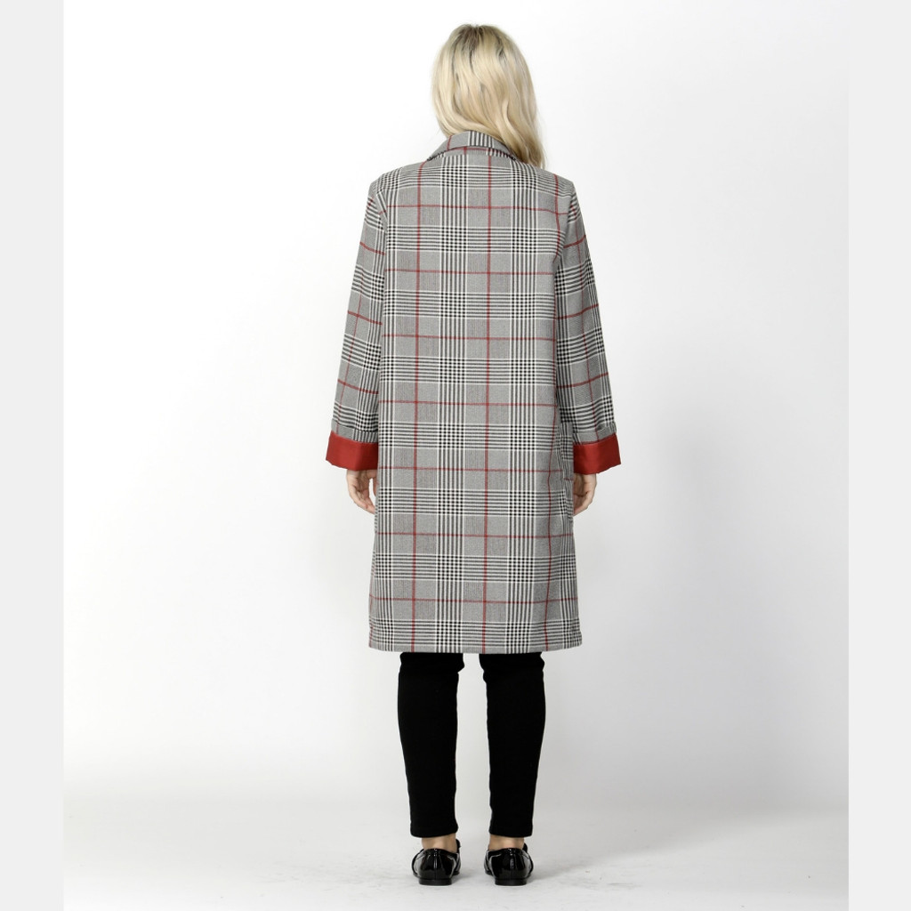 Jackets for Women | Undercover Check Trench | SASS