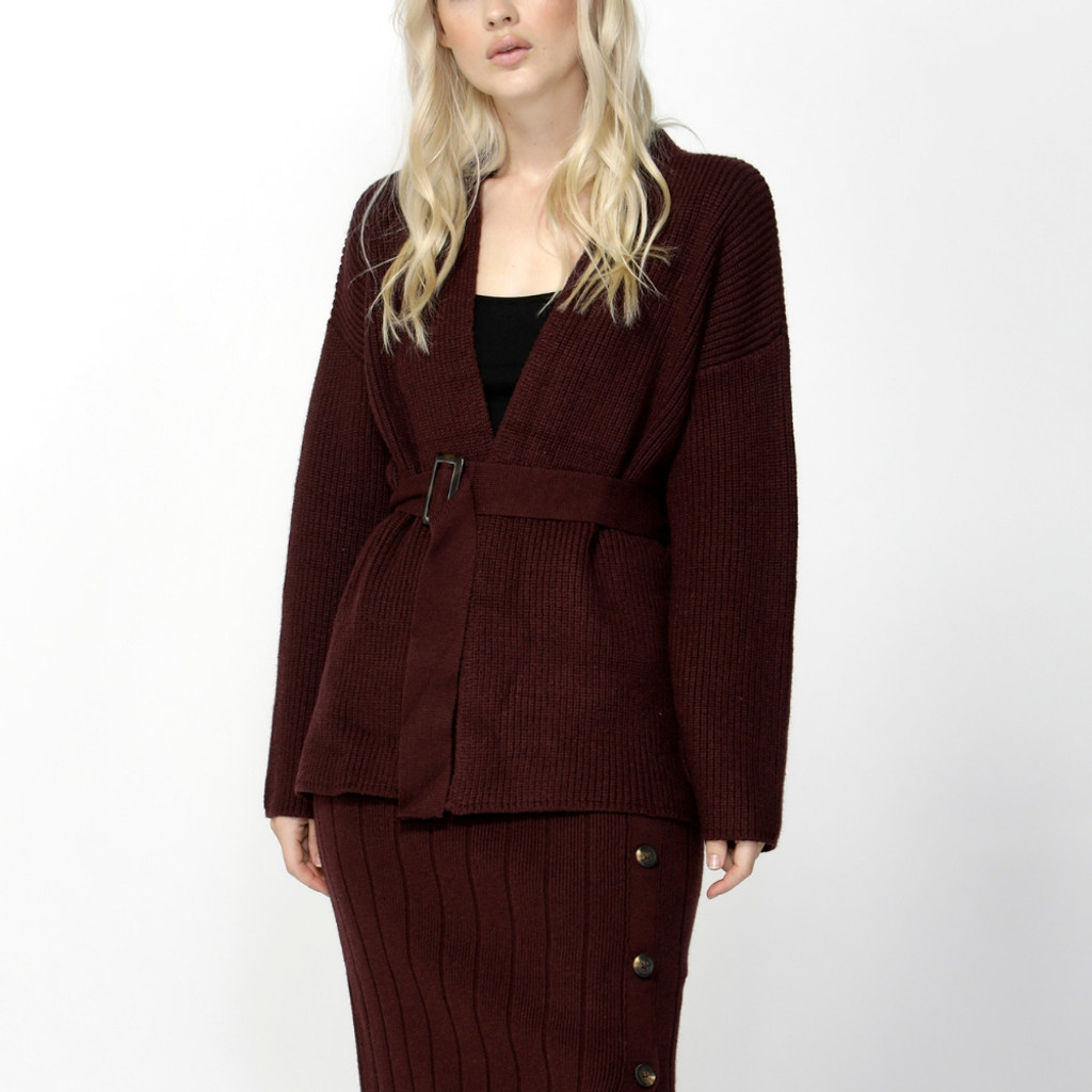 Jackets for Women | Free Falling Belted Cardigan | SASS