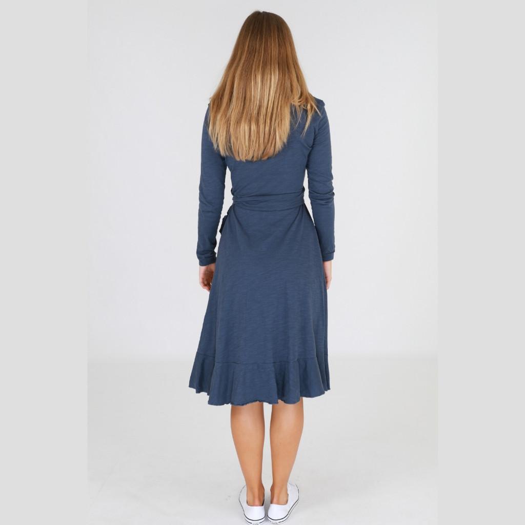 Dresses for Women Online | Tizi Dress i in Indigo | 3RD STORY