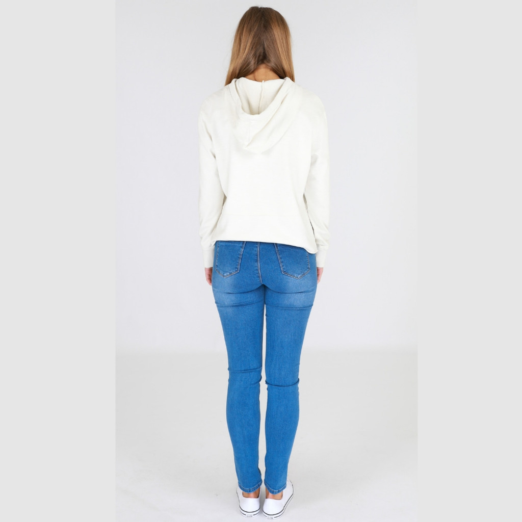 Sweaters for Women Australia| Greta Sweater in White | 3RD STORY