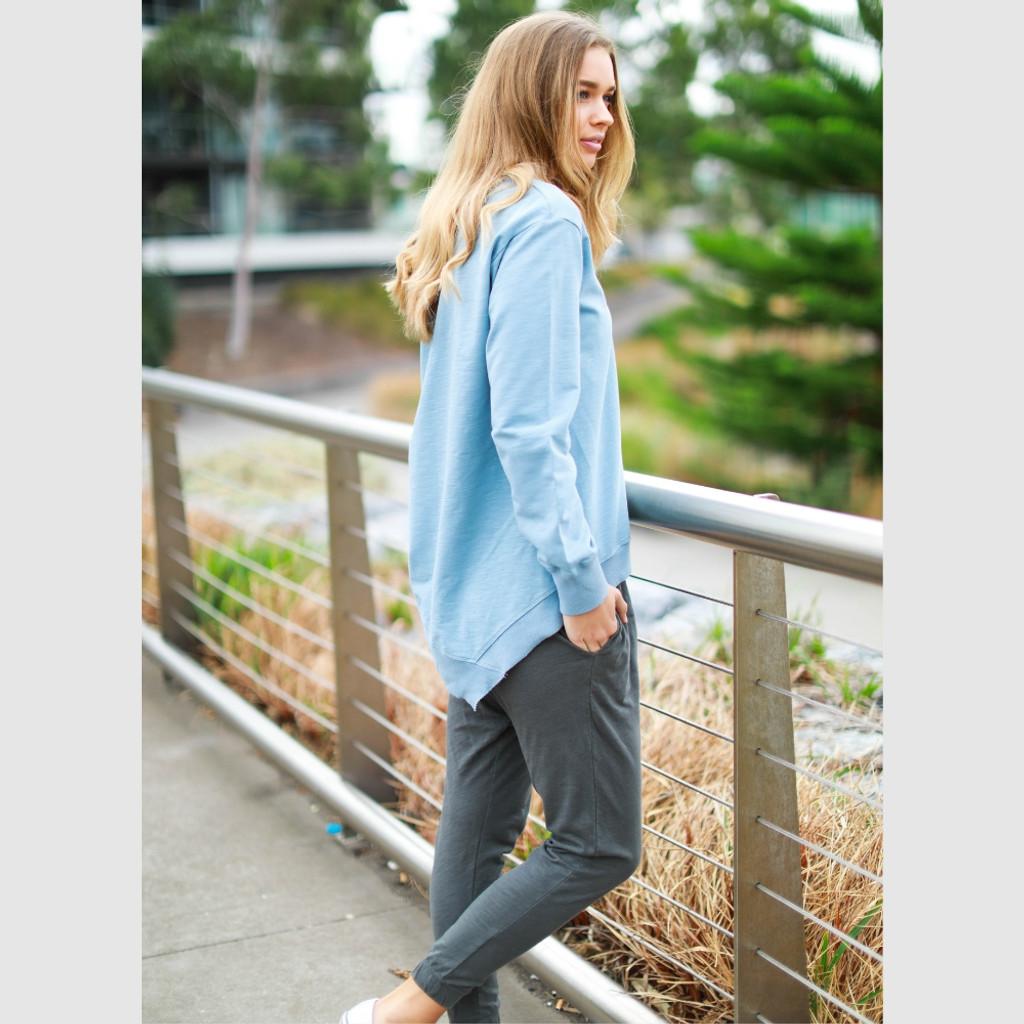 Women's Pants | Bondi Pants in Charcoal | 3RD STORY