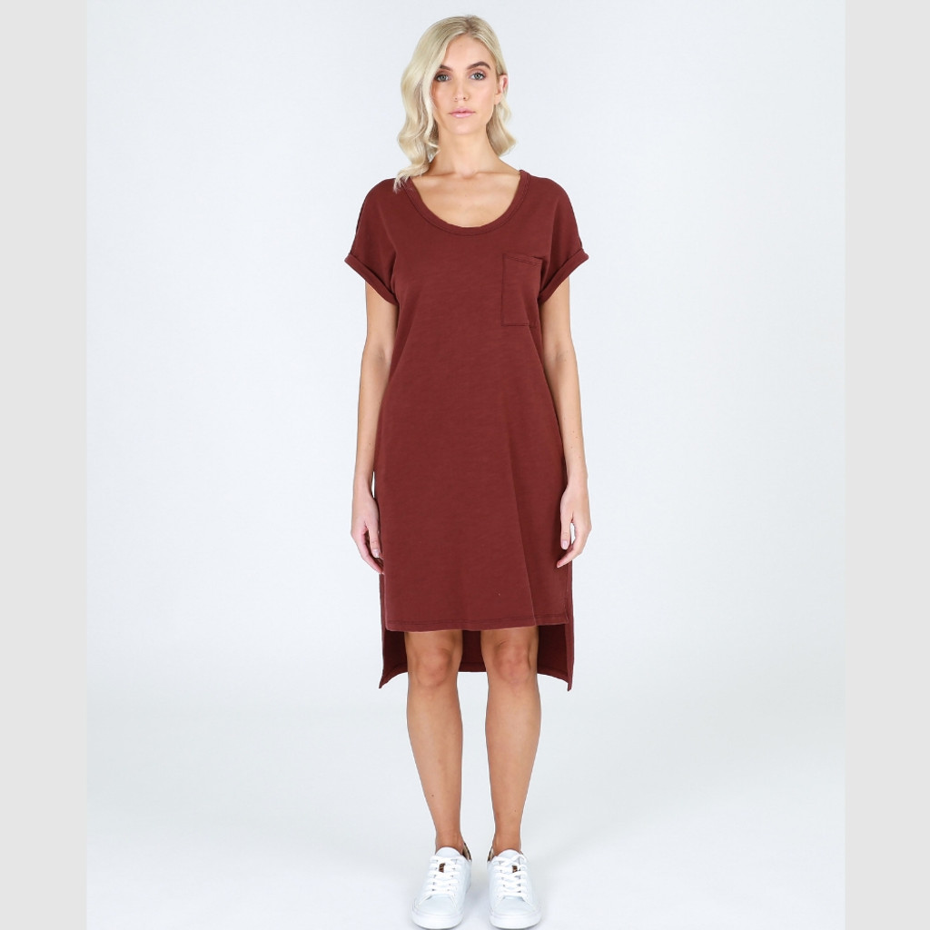 Dresses for Women Australia| Byron Tunic in Burgundy| 3RD STORY