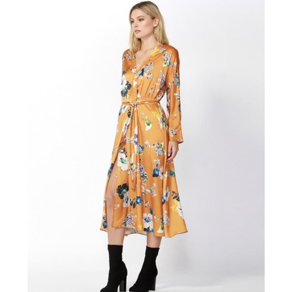 Women's Dresses | Tribeca Wrap Dress | FATE + BECKER