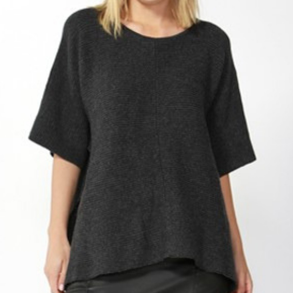 Ladies Tops | Aveen Cropped Knit | FATE + BECKER