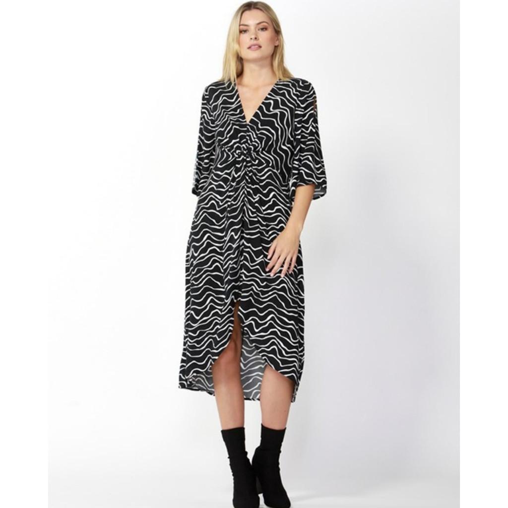 Women's Dresses | Star Struck Dress in Animal Print | FATE + BECKER