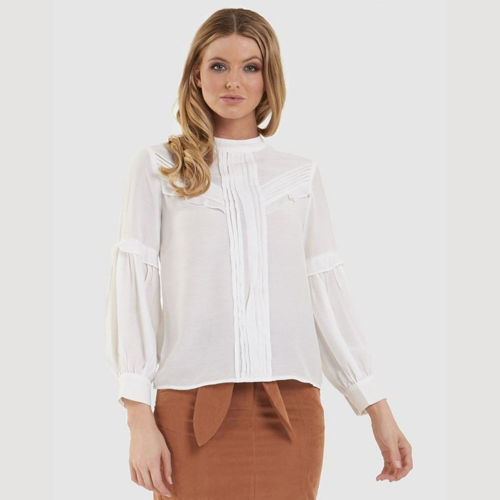 Ladies Tops | Prim Blouse | AMELIUS