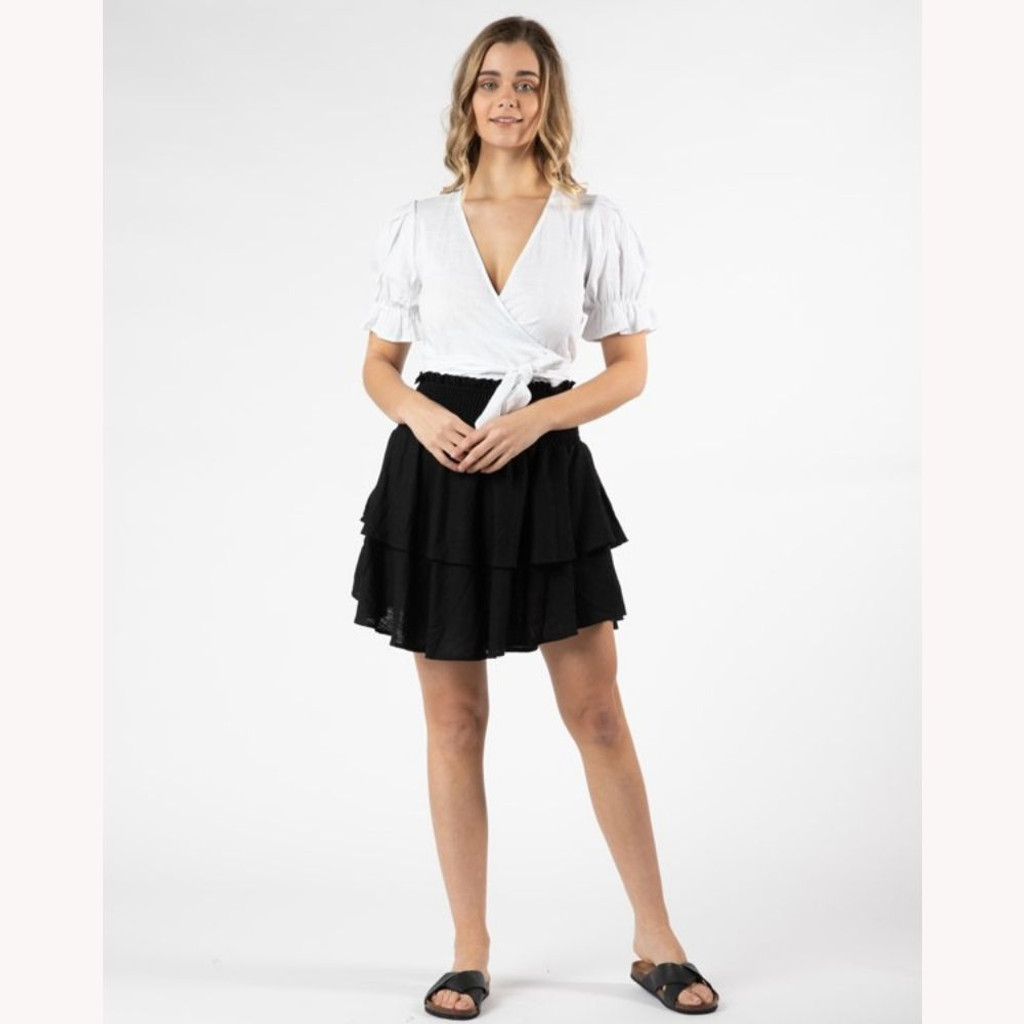 Women's Skirt Australia | Marthe Layered Skirt | SASS