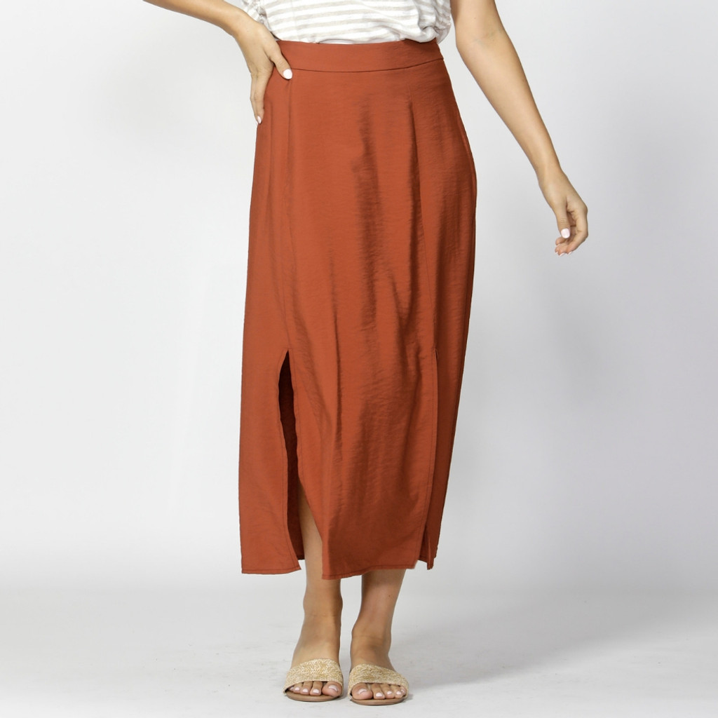 Women's Skirts Australia | Take My Hand Slit Skirt | FATE + BECKER