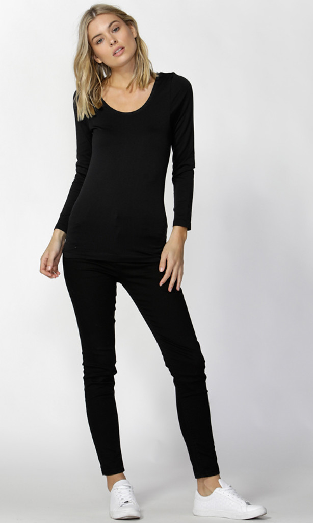 Women's Tops | Coco Scoop Top | Betty Basics