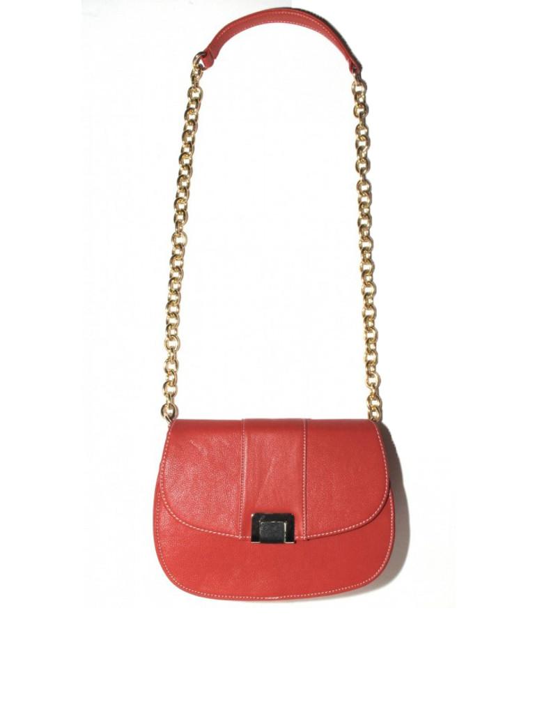 Good Weekend 1st December - Francoise Tangerine Bag