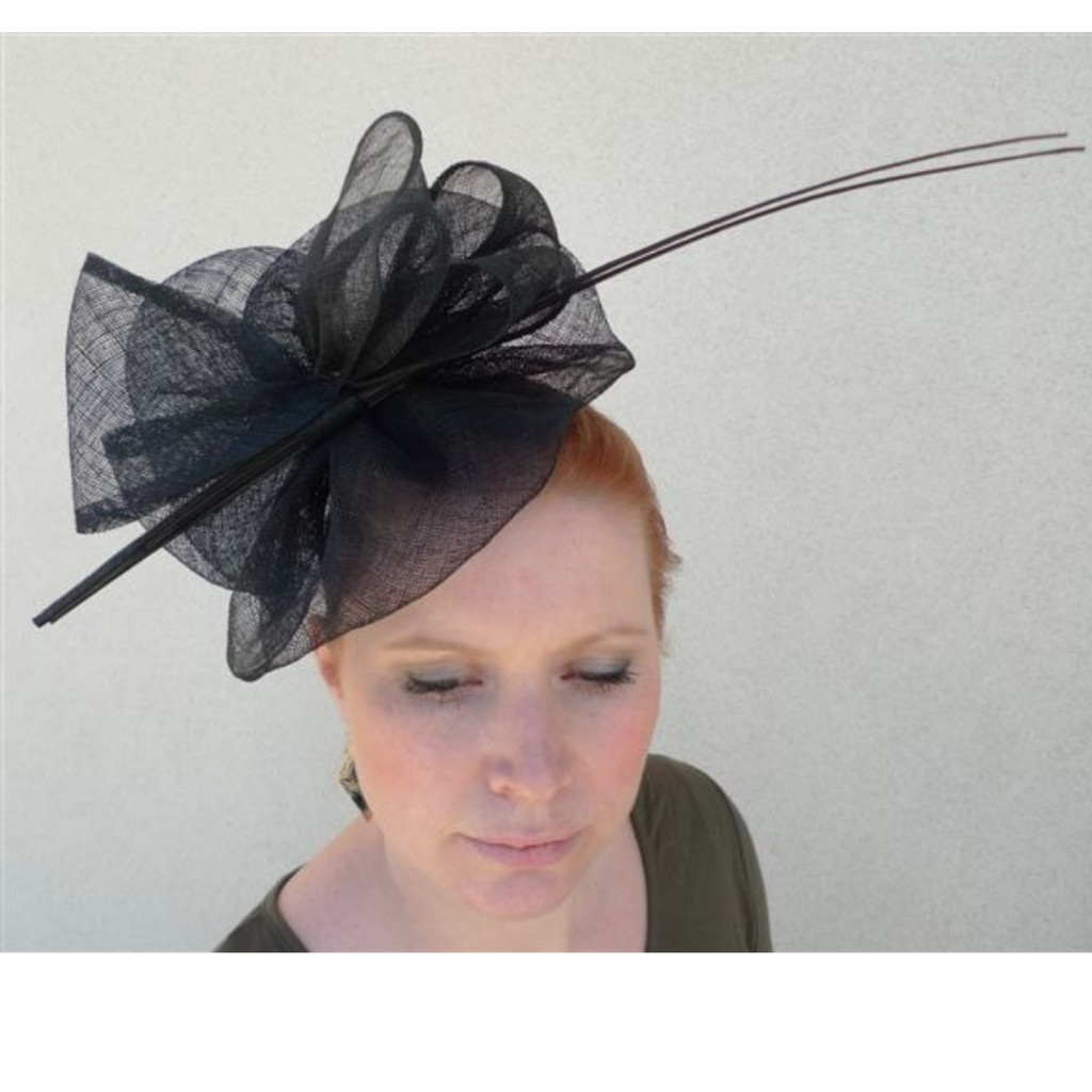 9928b82485f7a Large Statement Fascinator on Headband FH1986 by FAB