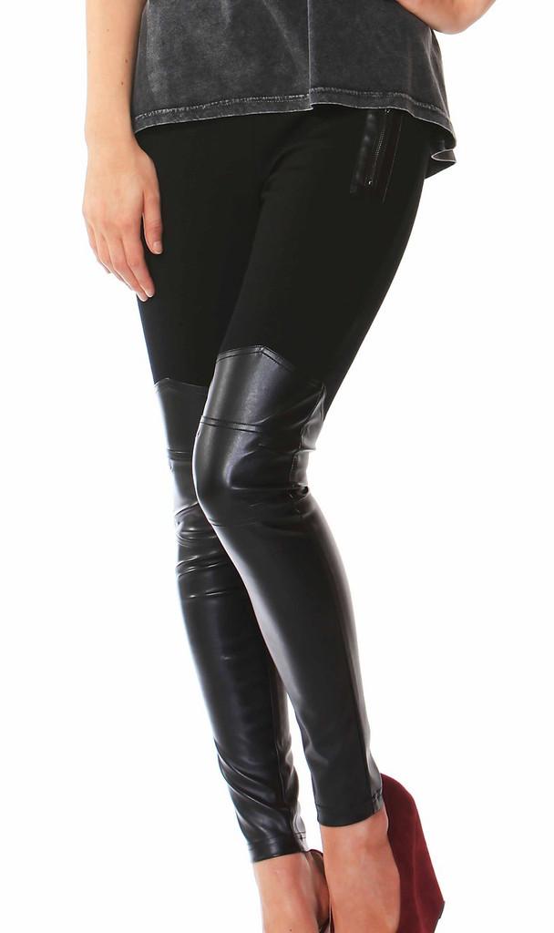 Women's Pants | Biker Ponti Pants | FATE