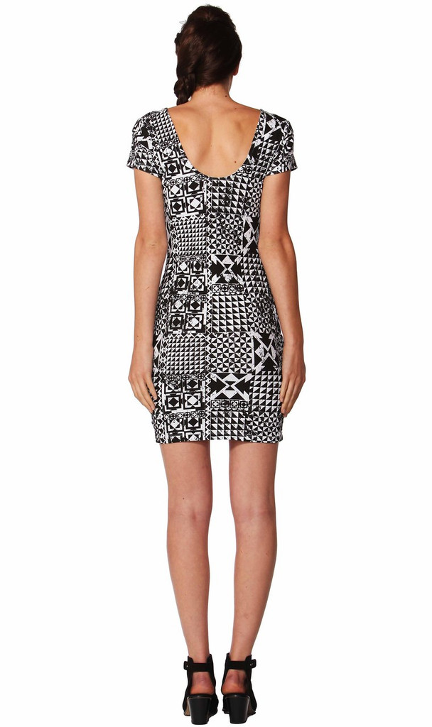 Ladies Dresses | Checkerboard Dress | SASS