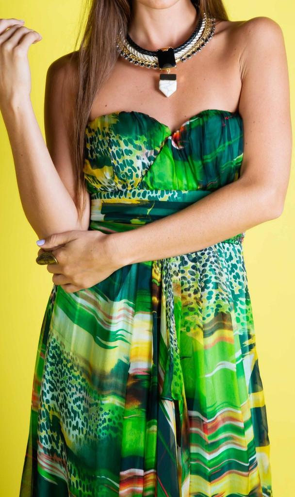 Ladies Dresses | Bird of Paradise Maxi | Honey & Beau