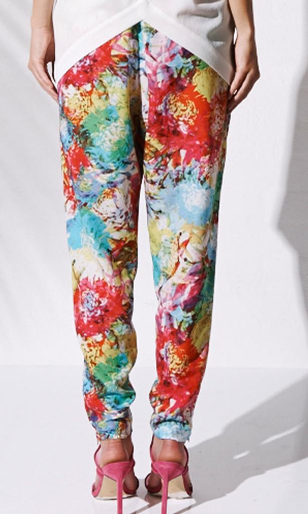 Women's Pants | Festive Bloom Pant | BEBE