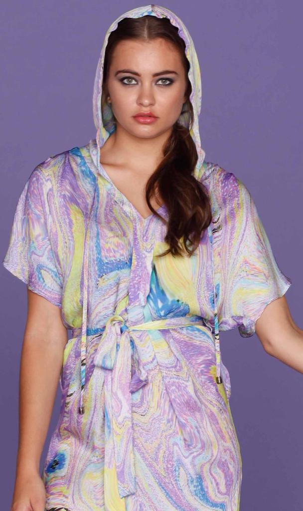 Ladies Dresses in Australia | Sunrise Hooded Maxi | HONEY & BEAU