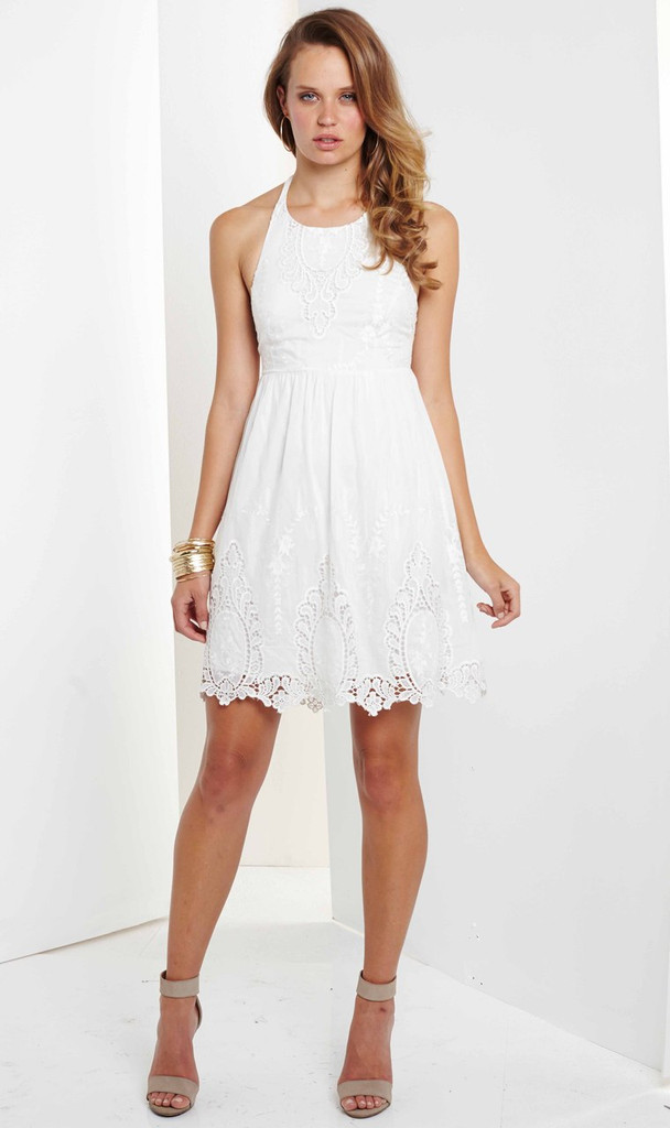 Ladies Dresses | Posy Embroidered Dress | Ministry of Style by BEBE