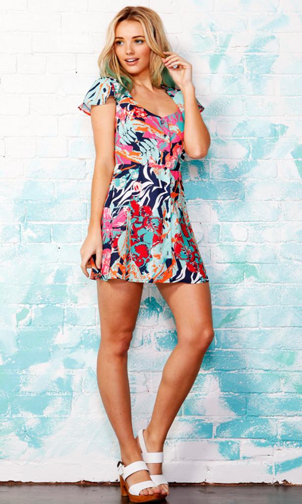 Ladies Dresses | Tropo Cut Out Dress | SASS