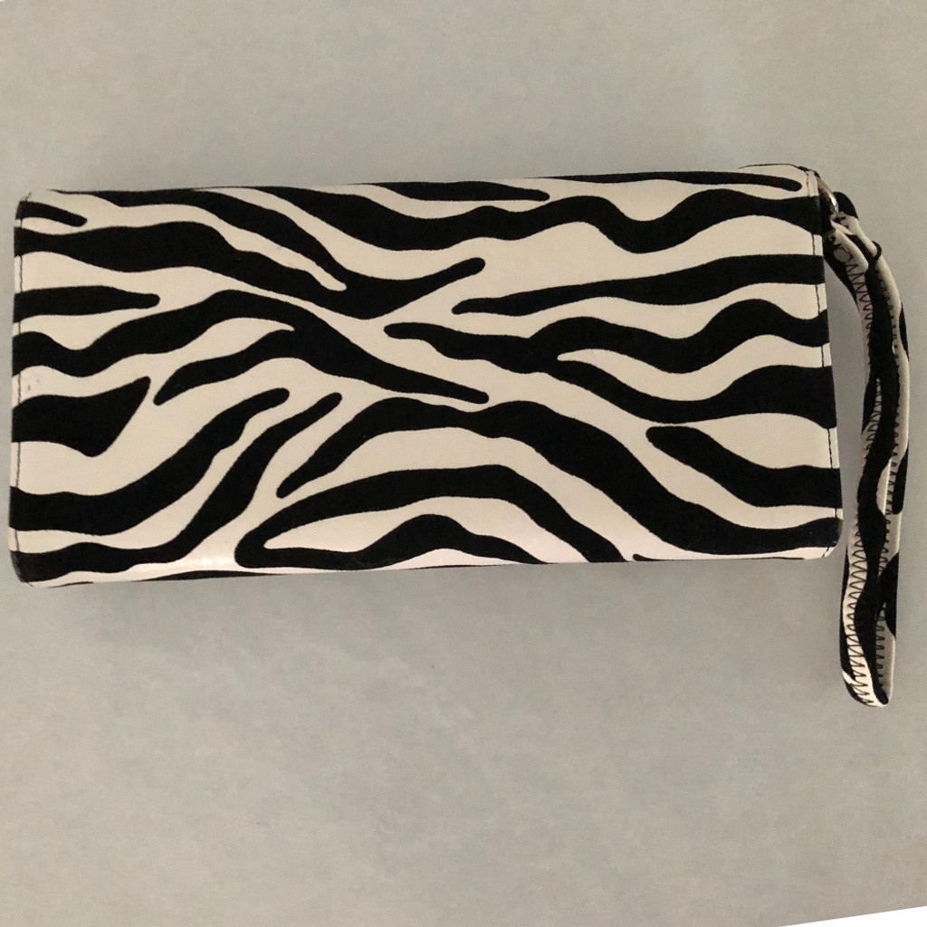 Women's Accessories  | Zebra Clutch | ALIBI