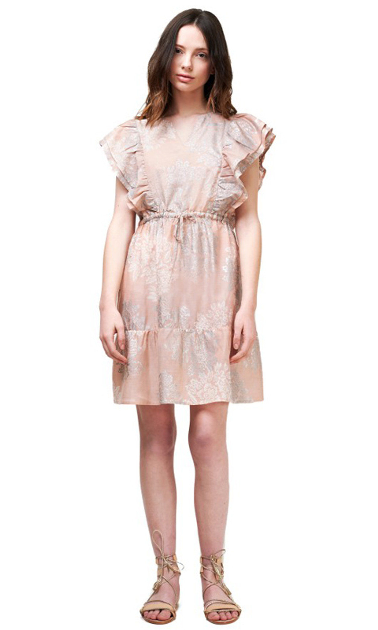 available hot-selling latest laest technology Sofia Silk Cotton Dress by SAINT ROSE*