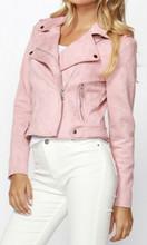 Jackets for Women | Lyra Suede Biker  Jacket | SASS