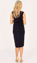 Women's Dresses Online Australia | Sultry Blues Capped Sleeved Wrap Dress | 3RD LOVE