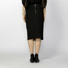 Womens Skirts Australia | Umbra Midi Leather Skirt | FATE + BECKER*