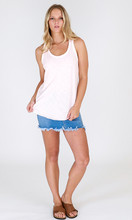 Women's Tops Online | Madison Tank in Blush | 3RD STORY