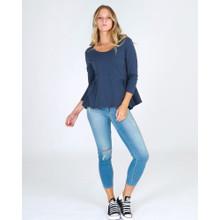 Ladies Tops Online | Seaford 7/8 Tee | 3RD STORY