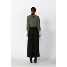 Ladies Tops | Flora Button Detail Blouse | FATE + BECKER